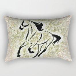 Horse Saying Rectangular Pillow