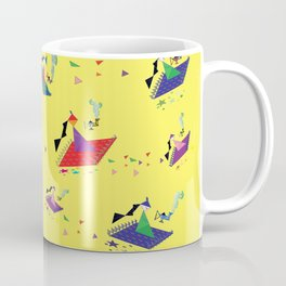 Arabian Tangrams Coffee Mug