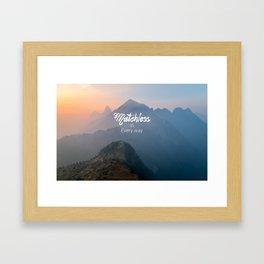 Matchless  Framed Art Print