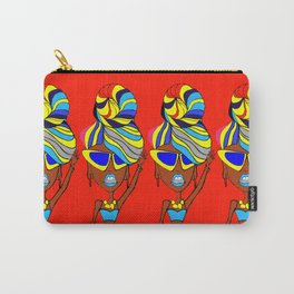 Hey Taxi Poster Of Ms. Meenakshi Unnikrishnan Carry-All Pouch