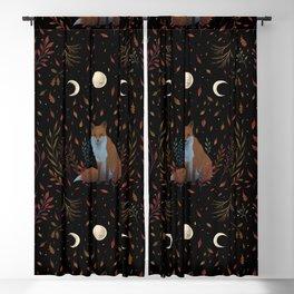 Autumn Fox Blackout Curtain