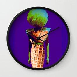 Sexy walkin´ cone 1 Wall Clock