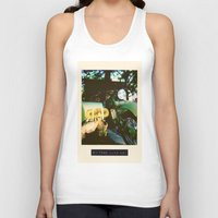 motorcycle Tank Tops featuring Motorcycle by Mauricio De Fex