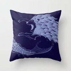 Merlion Throw Pillow