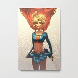 Supergirl III Metal Print