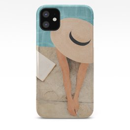 On the edge of the Pool II iPhone Case