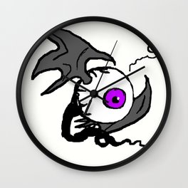 Fleye by Drunk Wall Clock