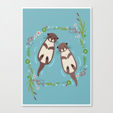 My Significant Otter Canvas Print