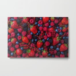 Bush Fruits Metal Print
