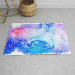 Space Lion Rug