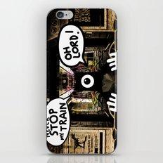 ALONE ON A NIGHT TRAIN iPhone & iPod Skin