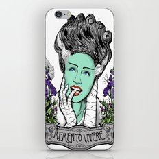 Memento Vivere iPhone & iPod Skin