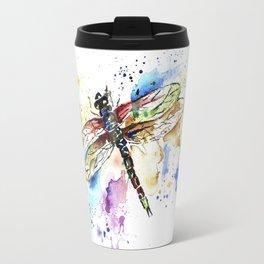 Dragonfly - Rainbow Wings Travel Mug