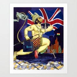 Hanuman to the Rescue Art Print