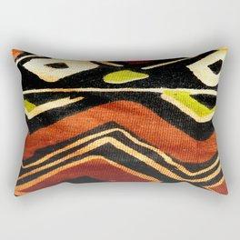 Africa Design Fabric Texture Rectangular Pillow
