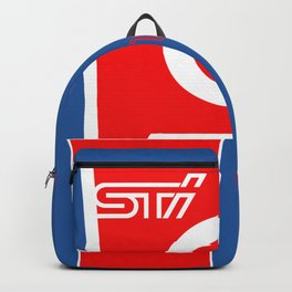 STI Rally Subaru Backpack