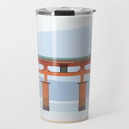 Floating torii, Itsukushina Shrine, Japan Travel Mug