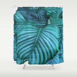Fast Calathea Shower Curtain