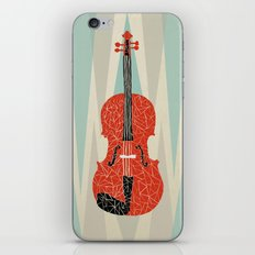 The Red Violin iPhone & iPod Skin