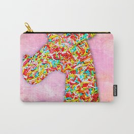 Sprinkled Unicorn Ice Cream Carry-All Pouch
