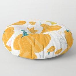 Fall Pumpking Floor Pillow