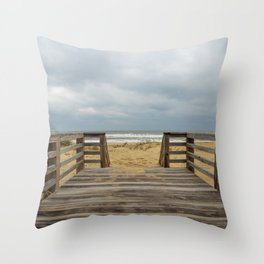 Draw me into the Sea Throw Pillow