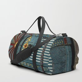 The Gate to Valhalla Duffle Bag