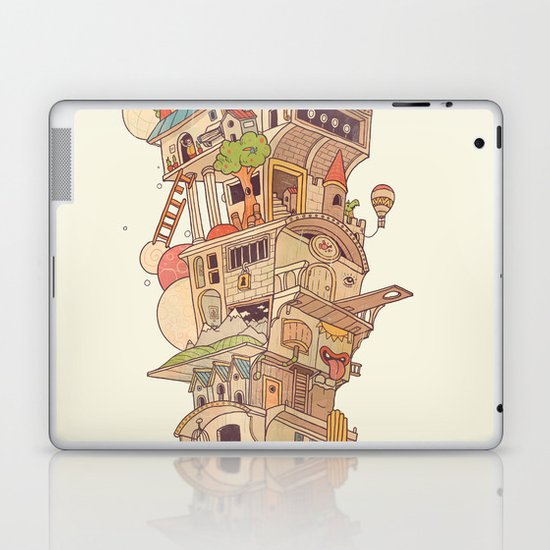 Traveling Circus Laptop & iPad Skin