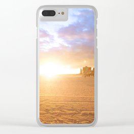 244. Coney lights, New York Clear iPhone Case