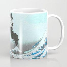 Great Wave Off Kanagawa Mount Fuji Eruption Colorful Coffee Mug