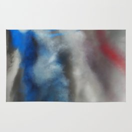 Watercolors on the sky Rug