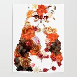 Portrait cute little kitten t-shirts Poster