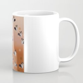 corgi dots - rust Coffee Mug