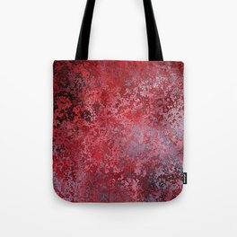Bloody decor | Halloween | Scabby | Blood | Gothic background Tote Bag