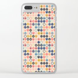 Valentine Love Clear iPhone Case