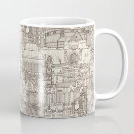 Edinburgh toile natural Coffee Mug
