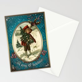 Christmas Vintage 141 Stationery Cards