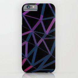 3D Futuristic GEO Lines iPhone Case