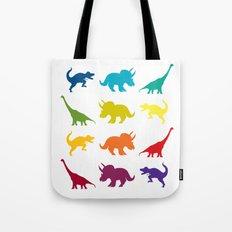 Dino Parade Tote Bag