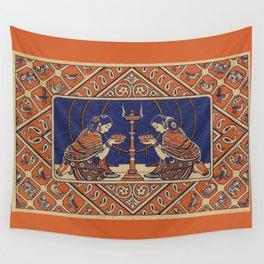 Hindu Prayer Wall Tapestry