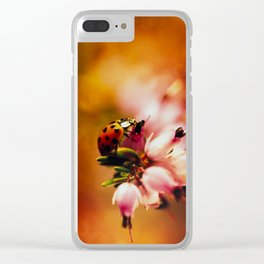 Impression with heathers Clear iPhone Case