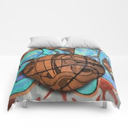 Basketball Graffiti Team Sports Design Comforters