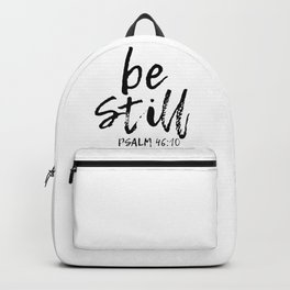 Be Still Backpack