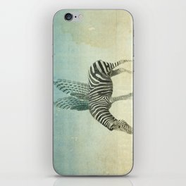 on the wings iPhone Skin