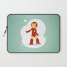 The most philanthropist of the Avenger: Little Iron Man Laptop Sleeve