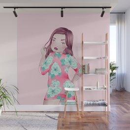 bayley dress Wall Mural