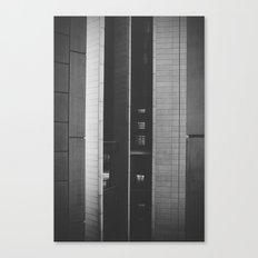 The space in-between Canvas Print