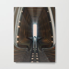 Onward and Upward Metal Print