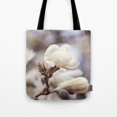 Magnolia Flower Tote Bag