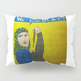 Muslim Rosie the Riveter Pillow Sham